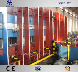 High Advanced Rubber Track Vulcanizing Press with High Working Efficiency