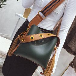 Designer Leather Handbag Leather Handbag Bucket Lady Handbag Handbags PU Bag Soft Bag Price (WDL01306)