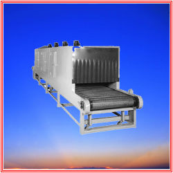 Continuous Food Dryer with Steam Heating