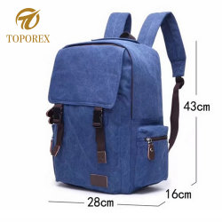 Canvas Shopping Bag Leisure Backpack School Laptop Sport Hiking for Travelling