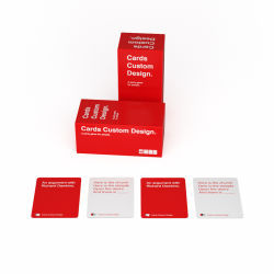 Card Game Manufacturer High Quality 300 Card Game Custom
