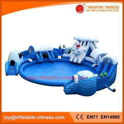 Inflatable Bouncy Toy/Giant Inflatable Polar Bear Amusement Park (T13-015B)