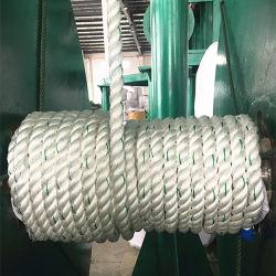 Wholesale White Twisted 3 Strand 40mm Nylon Rope