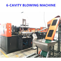 4000bph Full Automatic 500ml - 2liter 4cavity Plastic Blow Molding Blower Pet Water/Beverage/Drink/Medical Bottle Blowing Moulding Machine with Factory Price