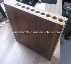Walnut Veneer Solid Core Wooden Door for Hotel