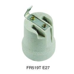 Ceramic Bulb Socke with Cord (FR519T)