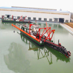 Hot Sale Cutter Suction Dredger with Slurry Pump and Hydraulic Control System