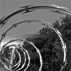 Hot Dipped Galvanized Concertina Razor Barbed Wire
