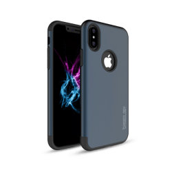 Wholesale Succinct Design PC&TPU Mobile Phone Back Cover for Iphonex