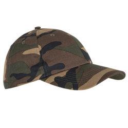 Custom 6 Panels Sport Cap Cotton Winter Snapback Camo Hat Fashion Visor Baseball Cap