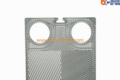 Free Flow Heat Exchanger Plate