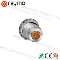 Compatible Lemos 6 Pin Circular Mini DIN Power Connector Ffa and Era. 1s. 306. Cll