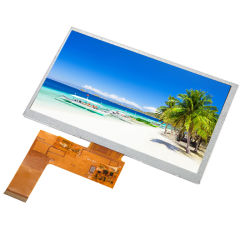 """TFT LCD Screen 7""""800X480 LCD with RGB 40pin Optional Rtp or CTP Apply for Car GPS/DVD/DVR and Medical"""