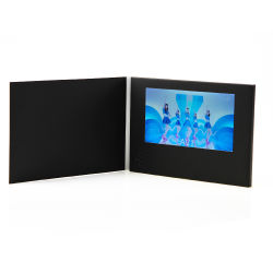 Automatical Video Business Greeting Card for Festival Gift