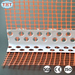 4 mm Drip PVC Corner Bead with Fiberglass Mesh