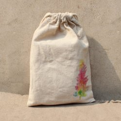 Cheap Wholesale Cotton Fabric Drawstring Bag