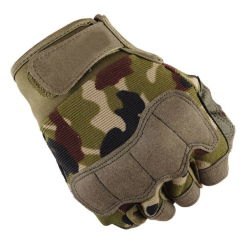 Tactical Sports Fitness Weight Lifting Gym Gloves Training Fitness Bodybuilding Workout Wrist Wrap Exercise Glove for Men