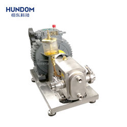 High Quality Sanitary Stainless Steel Rotary Lobe Pump for Chocolate Mayonnaise Food Industry