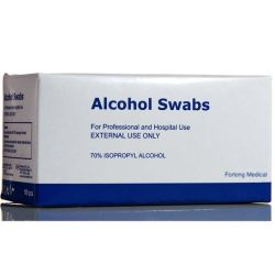 Disposable Alcohol Swabs 3cm X 3cm 200packets/Box