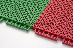 Multi-Sports Soft Plastic Resilient PP Sports Court Flooring