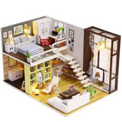 Wooden Craft Kit Children Dolls House Furniture Kits to Make