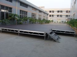 Factory Direct Sales Aluminium Frame Outdoor Concert Wedding Event Stage Moving Stage
