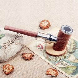 Wooden Design Resin Drip Tip Electronic Cigarette
