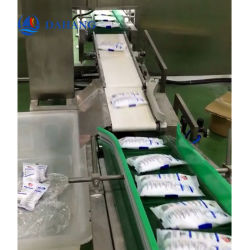 Food Industry Packaging Line Automatic Belt Conveyor Check Weigher Machine