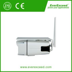 Everexceed 1080P 2MP WiFi Wireless & IP66 Waterproof Outdoor Solar Security Camera