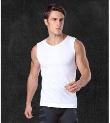 Customized Quick Dry Newest Men Seamless Sportswear Vest Fitness Waistcoat