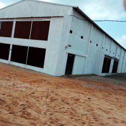 Environmental Controlled Broiler Farm Shed with Automatic Equipment