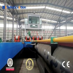 New Type Dredging Machine/Mining Equipment/ Cutter Suction Dredger with Cummins Engine Cutterhead and Slurry Pump for Sale