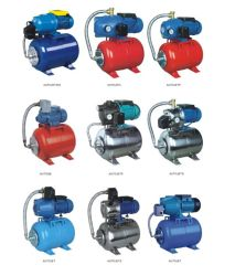 Deep Well Self-Priming Jet Water Pump with 24L Tank