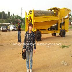 Mineral Benificiation Gold Trommel Wash Plant Price for Sales