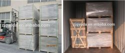 Non-Asbestos Wood Grain Fiber Cement Board Product