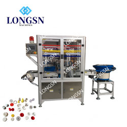 Automatic Plastic Crown Screw Tower/Sports/Oil/Flip-Top Cap Lid Assembly Combination Closing Machine