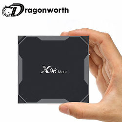 2019 Factory Wholesale New Model X96 Max Amlogic S905X2 Quad Core Arm GPU Android 8.1 Bt4.0 Voice Remote Smart TV Box X96 Max