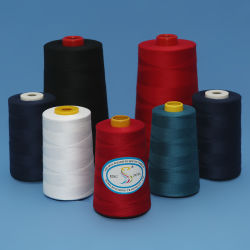 40s/2 40/2 with 2500yard 3000yard 5000yard Per Cone Ring Spun with Yizheng Fiber Material 100% Polyester Sewing Thread