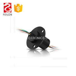 Directly Supply Electrical Slip Ring Connector Electrical Rotary Joint