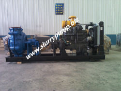 High Efficiency Horizontal Centrifugal Ash Slurry Pump