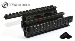 Vector Optics Ak 47 / 74 Ris Handguard Quad Picatinny Rail System Mount Free Rail Cover Guards