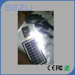 Solar Energy Lighting Equipment, with 10-in-One Cable, LED Lamps