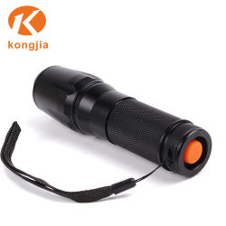 Ultra Bright Aluminum 26650/18650 Battery Military Tactical Rechargeable Flashlight