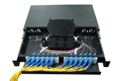 Rack Mount 1u Fiber Optic Patch Panel/ODF with Sc Adapter/Pigtail
