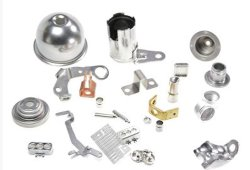 OEM Metal Stamping Parts with Zinc Plating for Stamped Parts