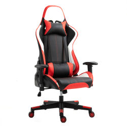 Executive Gaming Chair Adjustable E-Sports Gamer Chair PU Leather High-Back Office Chair