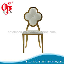 Cheap Price China Wholesale Flower Pattern Stainless Steel Dining Chair