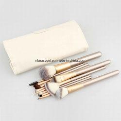 12 PCS Makeup Brush Set Professional Synthetic Kabuki Foundation Blending Blush Concealer Eye Face Liquid Powder Cream Cosmetics Lip Brush Esg10206