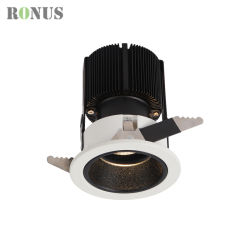 Distributor Ce RoHS UL Aluminium IP44 LED Dimmable Spot Lighting Fixture 10/15/20W Hotel Down Spotlight Commercial Ceiling Light COB Lamp Bulb Downlight