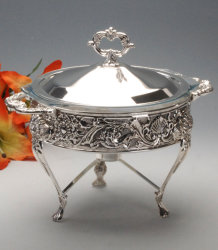 Silver Plated Food Warmer (AG53252DM)